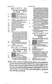 Iulii Caesaris Scaligeri, ... Poetices libri septem: 1. Historicus, 2. Hyle, 3. Idea, 4. Parasceue, 5. Criticus, 6. Hypercriticus, 7. Epinomis. ..