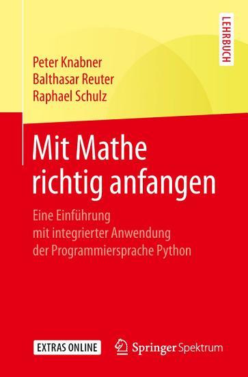 Mit Mathe richtig anfangen PDF