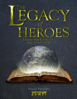The Legacy of Heroes  A Fantasy Role Playing Game  Game Master s Guide PDF
