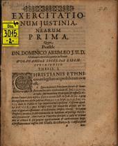 Exercitationum Iustinianearum I - XV