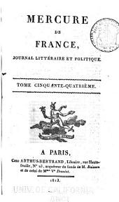 Mercure de France: Numéro216