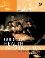 Guide to Health Informatics  2Ed PDF
