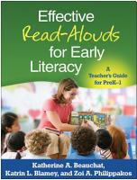 Effective Read Alouds for Early Literacy PDF