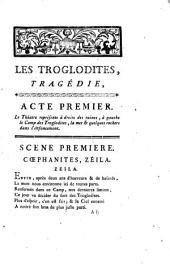 Les troglodites: tragédie, en cinq actes