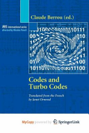 Codes and turbo codes PDF