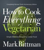 How to Cook Everything Vegetarian PDF