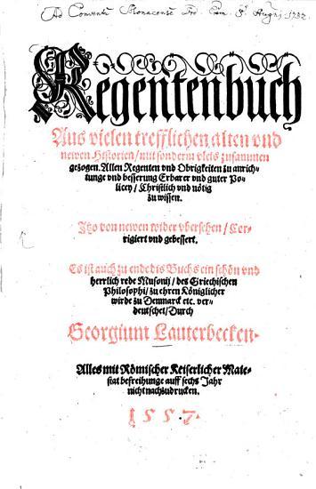 Regentenbuch PDF