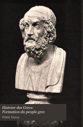 Histoire des Grecs: Formation du peuple grec