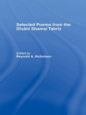Selected Poems from the D  v  ni Shamsi Tabr  z