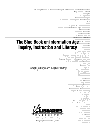 The Blue Book on Information Age Inquiry  Instruction  and Literacy PDF