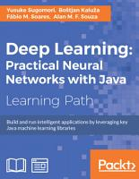 Deep Learning  Practical Neural Networks with Java PDF