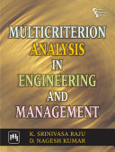 Multicriterion Analysis in Engineering and Management