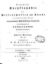 Allgemeine Encyklopädie der Wissenschaften und Künste: In alphabetischer Folge. ¬Section ¬2, H - N ; Theil 14, Jacobia - Iba