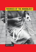 Theories of the Nonobject PDF