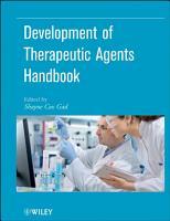 Development of Therapeutic Agents Handbook PDF