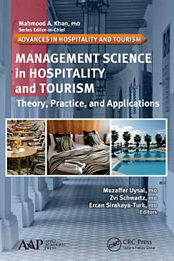 Management Science in Hospitality and Tourism PDF