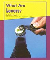 What Are Levers  PDF