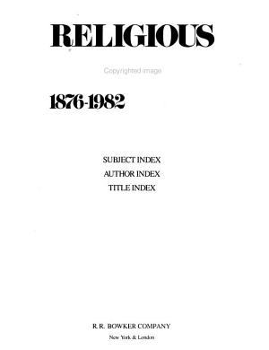 Religious Books  1876 1982