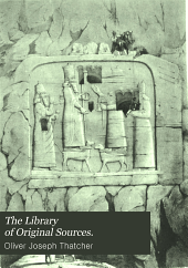 The Library of Original Sources: Volume 1