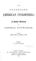 The Condensed American Cyclopaedia PDF