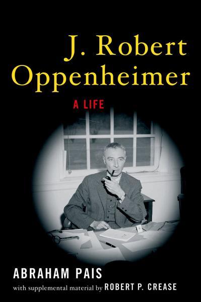 Download J  Robert Oppenheimer Book
