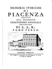 Memorie storiche della città di Piacenza