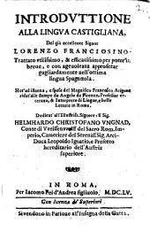 Introduttione alla lingua castigliana