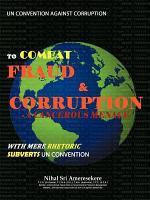 UN Convention Against Corruption to Combat Fraud & Corruption