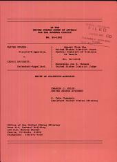 United States of America V. Hatchett: Issues 95-1892