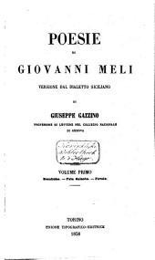 Poesie, versione dal dialetto siciliano di Giuseppe Gazzino