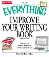 The Everything Improve Your Writing Book PDF