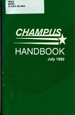 CHAMPUS Handbook PDF