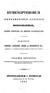 Hymenopterorum ichneumonibus affinium monographiae, genera Europaea et species illustrantes: Pteromalinorum, Codrinorum et Dryineorum monographias complectens, Volume 2