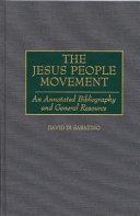 The Jesus People Movement PDF