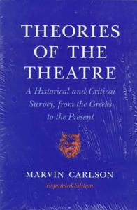 Theories of the Theatre PDF