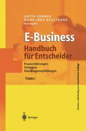 E-Business - Handbuch für Entscheider: Praxiserfahrungen, Strategien, Handlungsempfehlungen, Ausgabe 2