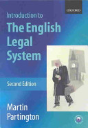 An Introduction to the English Legal System