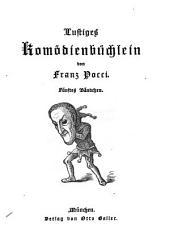 Lustiges Komödienbüchlein: Bände 5-6