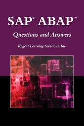 SAP® ABAPTM Questions and Answers