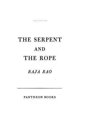 The Serpent and the Rope PDF