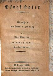 Psacj Stolek (etc.)