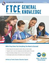 FTCE General Knowledge Book + Online: Edition 3