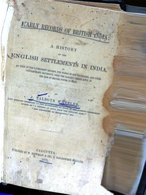Early Records of British India PDF