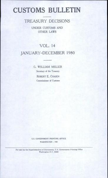 Download Customs Bulletin Book