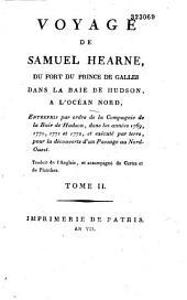 Voyage de Samuel Hearne du fort du Prince de Galles, dans la baie de Hudson, à l'océan Nord... dans les années 1769, 1770, 1771 et 1772... traduit de l'anglais... par A.-J.-N. Lallemand