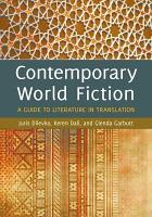 Contemporary World Fiction A Guide To Literature In Translation