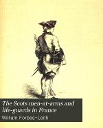 The Scots Men-at-arms and Life-guards in France