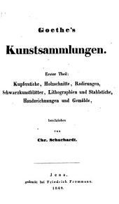 Goethe's kunstsammlungen ...