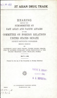 Southeast Asian Drug Trade PDF