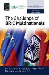 The Challenge of BRIC Multinationals